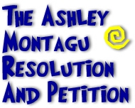 The Ashley Montagu Resolution and Petition